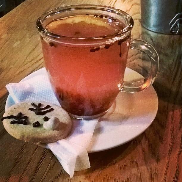 Id wita Pozna smakpoznania teatime tea christmas cookie