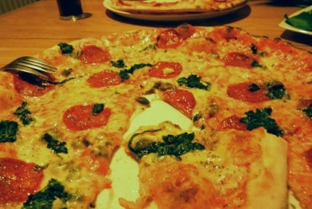 pizza spinaci peperone bar a boo