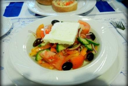 salatka grecka taverna artemis poznan