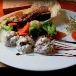Polędwiczka wieprzowa z aromatycznym estragonem – Zielone Słonie