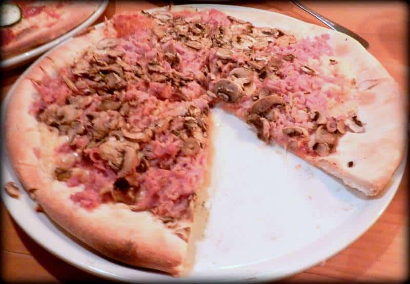 Capriciosa - pizza z Zielonych Słoni