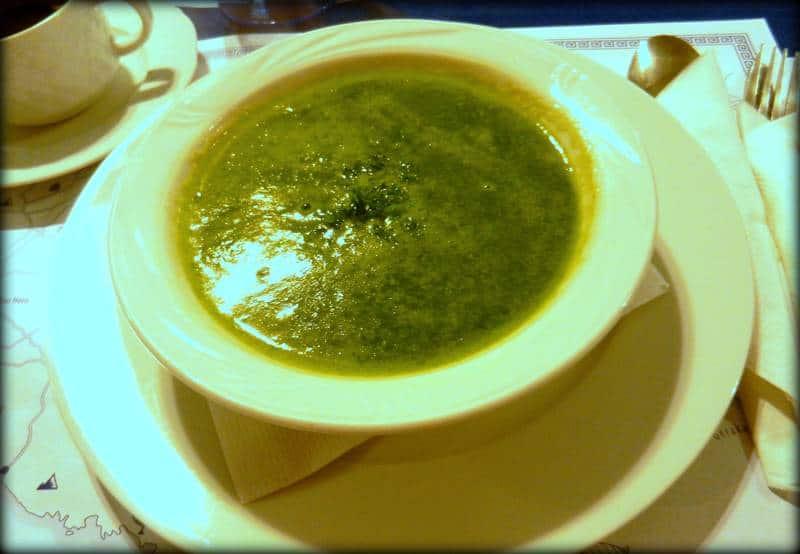 zupa szpinakowa taverna artemis