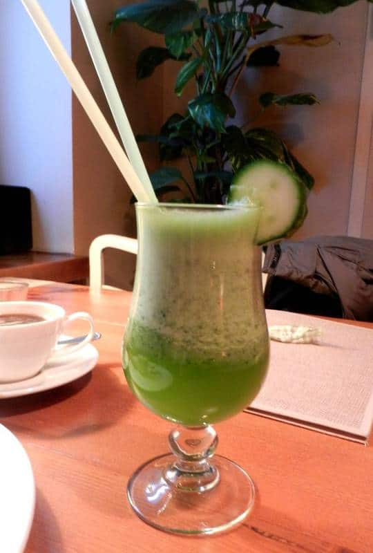 Lemoniada ogorkowa Zielone Slonie Poznan