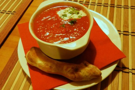 krem pomidorowy paderewski restaurant poznan
