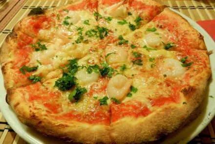pizza di scampi paderewski restaurant poznan