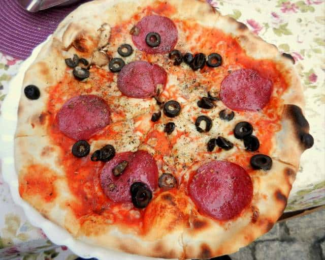 pizza salcicciata da luigi poznań