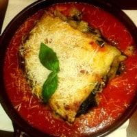lasagne ze szpinakiem i warzywami
