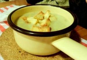 czosnkowa zupa pysna chalupa poznań
